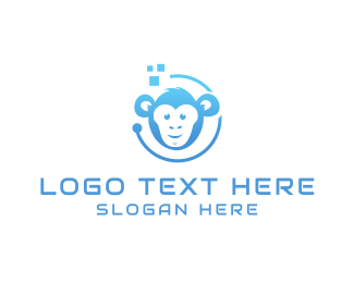 Monkey - Tech Monkey logo design