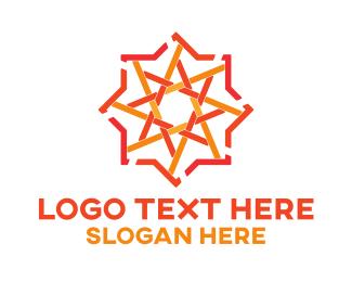 Arabic - Arabic Star Pattern logo design