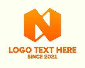 Business Letter N Logo