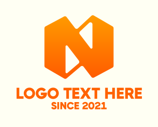 Letter N - Business Letter N logo design