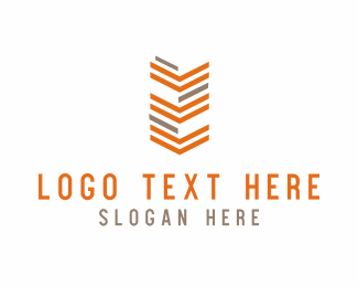 Soldier - Orange Arrows Army logo design