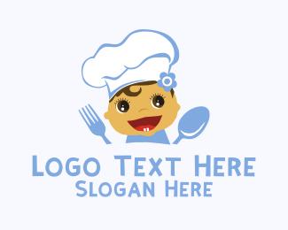 Baby Chef Restaurant Logo