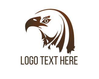 Brown - Brown Eagle logo design