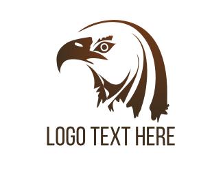 Hawk - Brown Eagle logo design