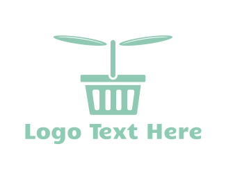 Picnic - Flying Basket logo design