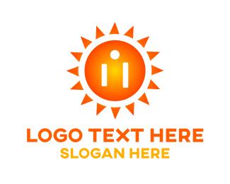 Electrical - Solar Electricity logo design