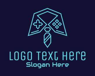 Job - Tech Gaming Job logo design