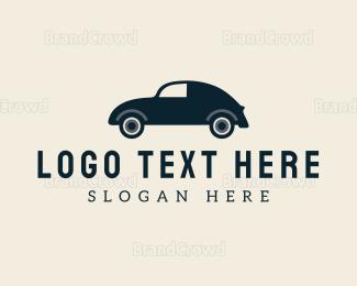 Cuba - Vintage Car logo design