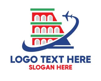 Italian Restaurant - Italian Airline logo design