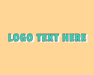 Preschool - Blue Preschool Wordmark logo design