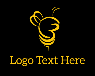 Bees - City Bees logo design