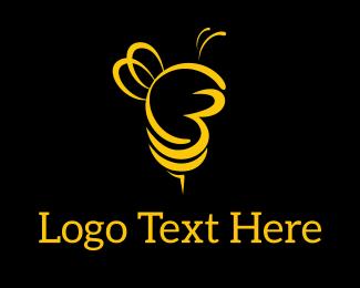 Beehive - City Bees logo design