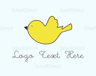 """Yellow Bird "" by cundil"