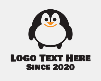 South Pole - Penguin Toy Store logo design