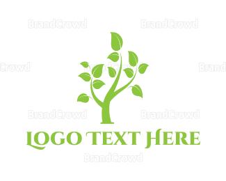 Reduce - Small Tree logo design