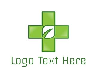 Medical Marijuana - Natural Medicine logo design