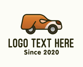 Puppy - Mobile Dog Pet Vehicle logo design