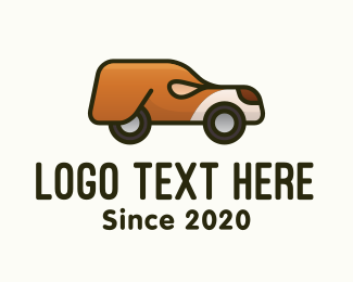 Suv - Mobile Dog Pet Vehicle logo design
