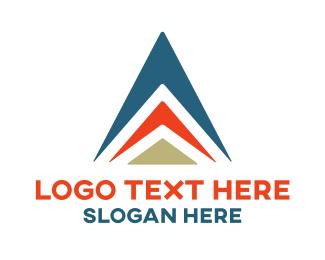 Bus Company - Aviation Triangle logo design