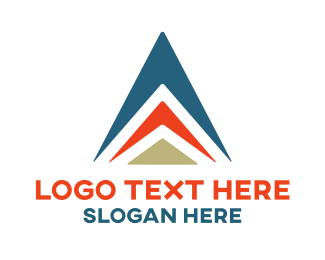 Aircraft - Aviation Triangle logo design