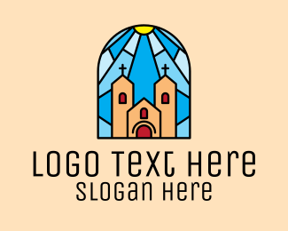 Pastor - Cathedral Church Mosaic  logo design