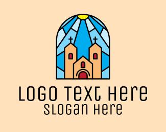 Church - Cathedral Church Mosaic logo design