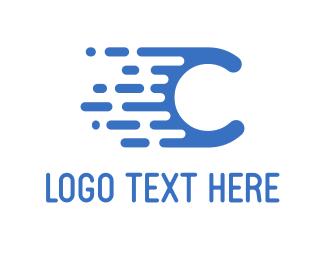 Pipe - Fast C logo design
