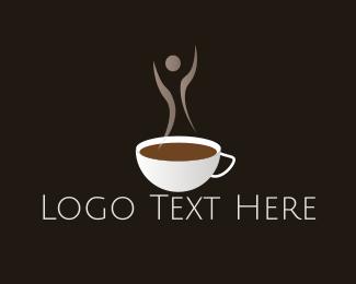 Aroma - Hot Coffee Aroma logo design