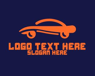 General Business - Modern Car Swoosh logo design