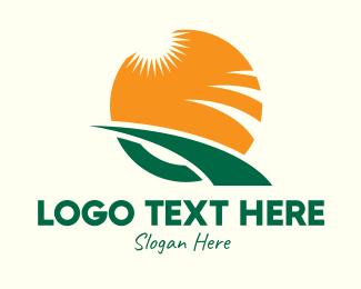 Letter Q - Agricultural Letter Q logo design