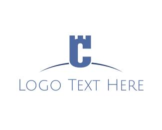 Guard - Security Letter C logo design