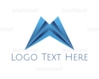 """Modern Letter M"" by SimplePixelSL"