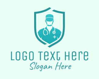 Doctor - Medical Doctor Protection logo design