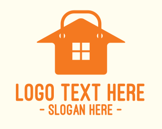 Pawn - Orange House Shopping  logo design