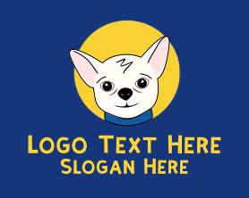 Little - Cute Pet Chihuahua logo design