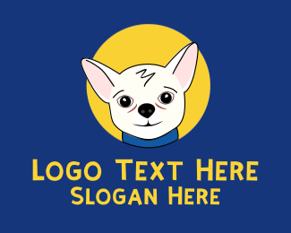 Pet Food - Cute Pet Chihuahua logo design