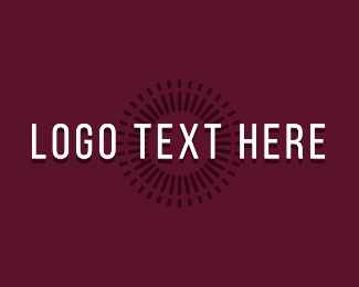 Disco Bar - Cursive Retro Bar Wordmark logo design