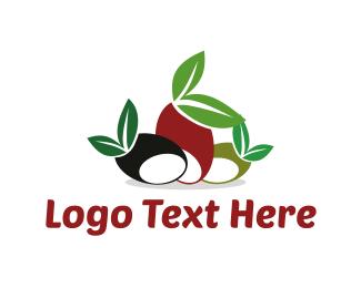 Olive Leaf - Mediterranean Olives logo design
