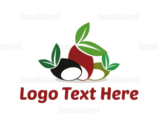Italian Food - Mediterranean Olives logo design