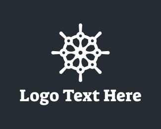 Oceanic - Tech Captain logo design