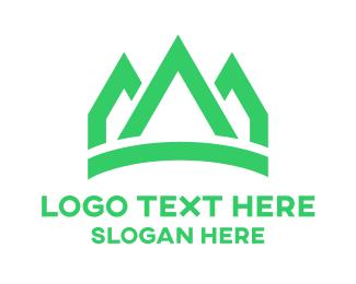 Green Peaks Crown Logo
