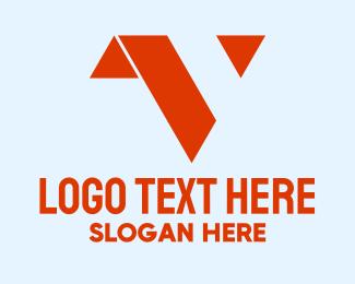 Letter V - Minimalist Letter V  logo design