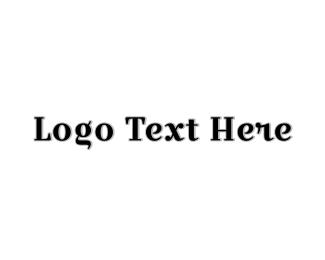 Classy - Classic Black Wordmark logo design