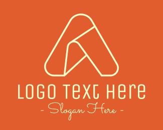 Minimalist - Minimalist Letter A logo design