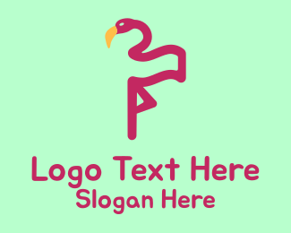 Flamingo - Flamingo Flag logo design