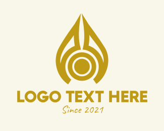 Oil - Liquid Oil Drop logo design