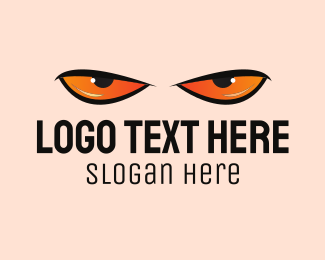 Eye - Angry Eyes logo design