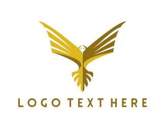 Indonesia - Golden Eagle logo design