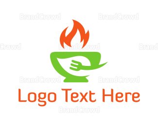 Food Truck - Hot Food logo design