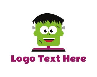 Frankenstein - Young Frankenstein logo design